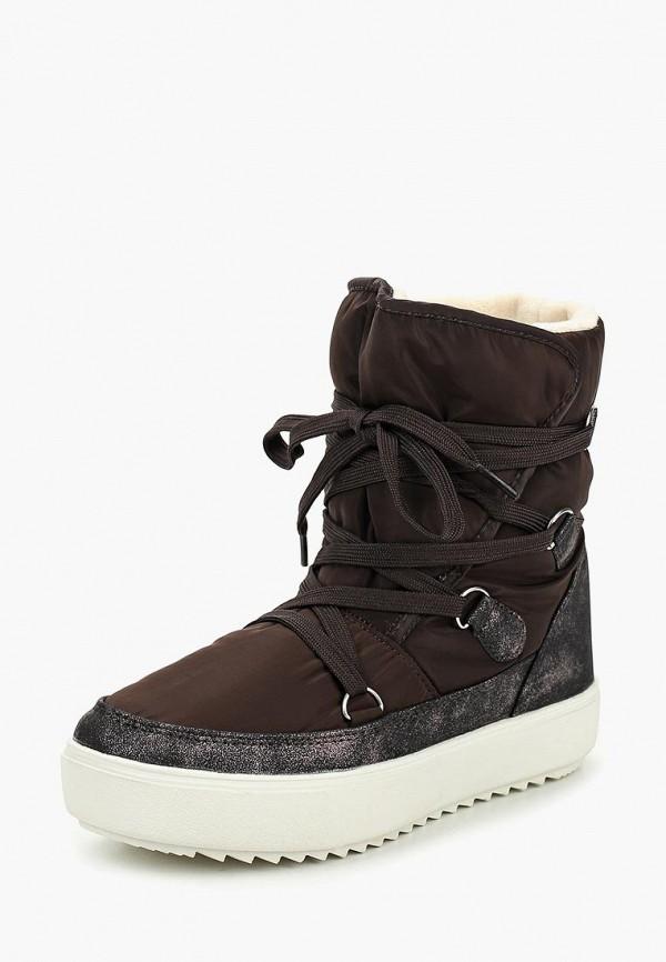 женские ботинки mon ami, коричневые