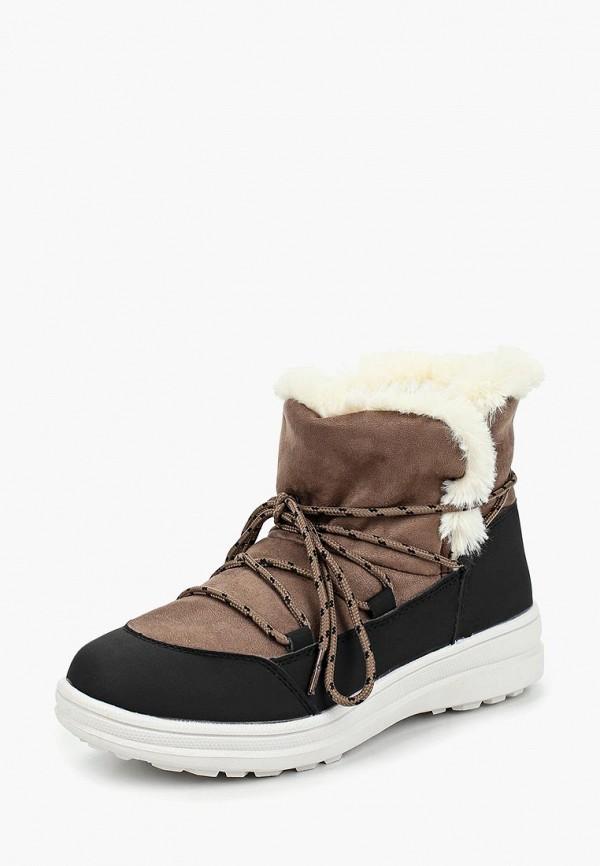 женские ботинки mon ami, бежевые