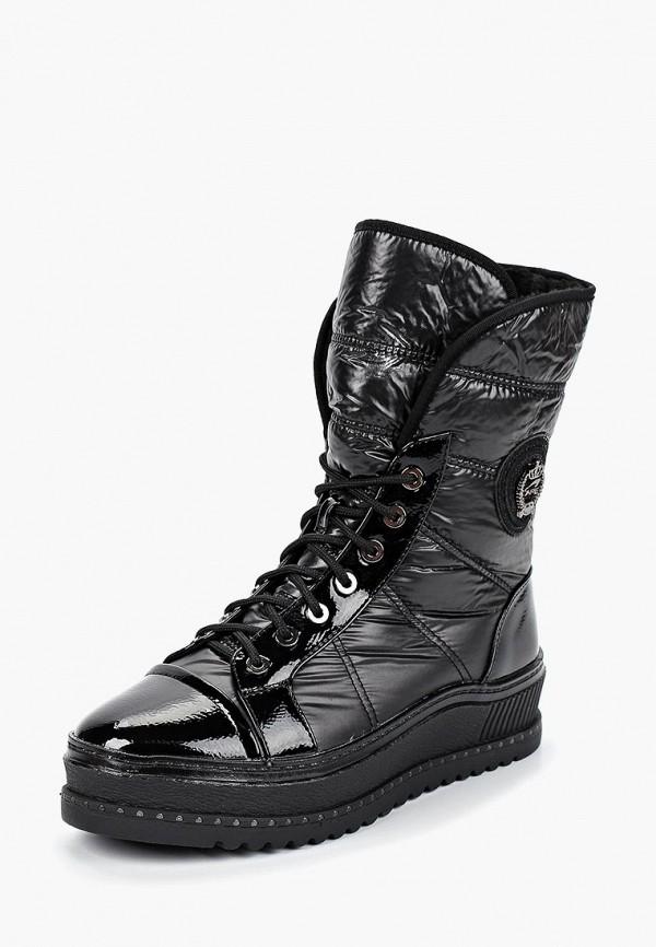 женские ботинки mon ami, черные