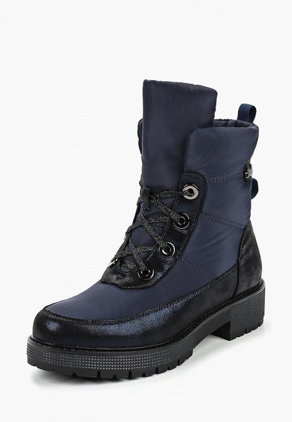 женские ботинки mon ami, синие
