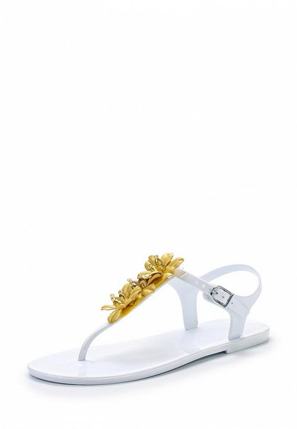 Фото - женские сандали Mon Ami белого цвета