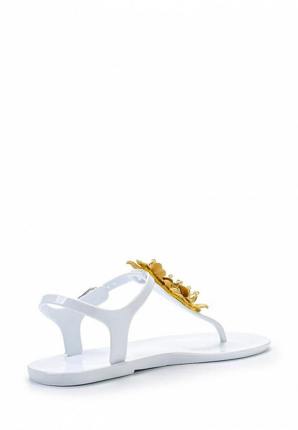 Фото 2 - женские сандали Mon Ami белого цвета