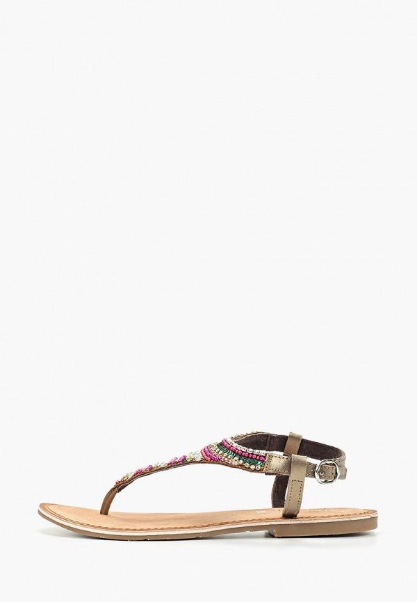Купить женские сандали Mon Ami разноцветного цвета