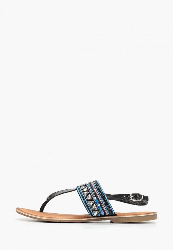 женские сандалии mon ami, синие