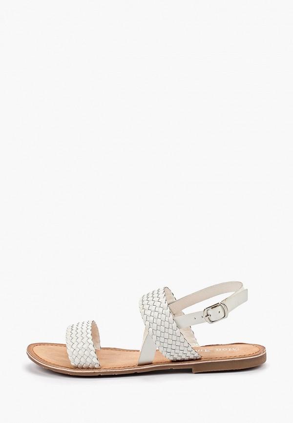 Купить женские сандали Mon Ami белого цвета