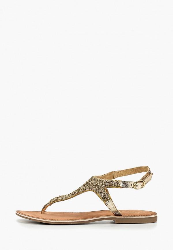 женские сандалии mon ami, золотые