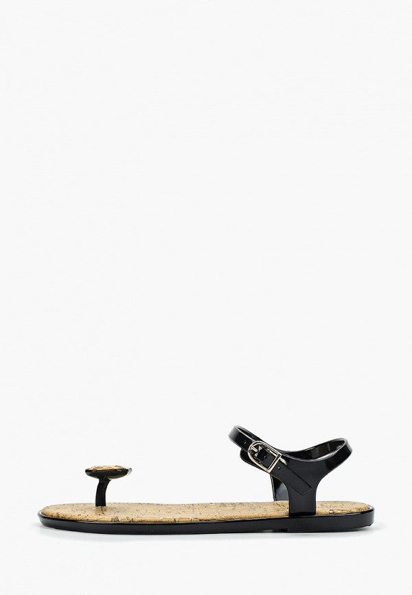 женские сандалии mon ami, черные