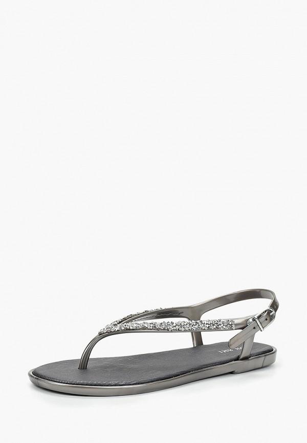 Фото 2 - женские сандали Mon Ami серебрянного цвета