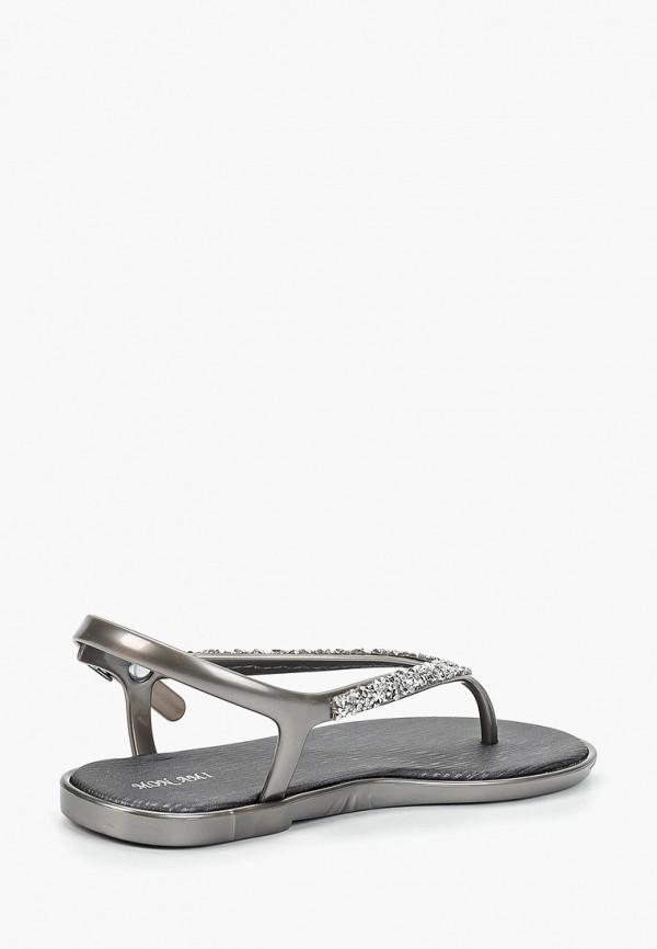 Фото 3 - женские сандали Mon Ami серебрянного цвета