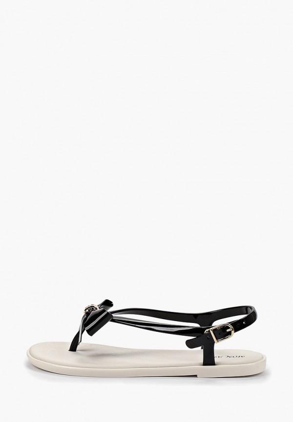 Фото - женские сандали Mon Ami черного цвета