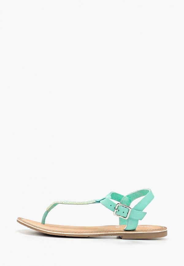 женские сандалии mon ami, бирюзовые