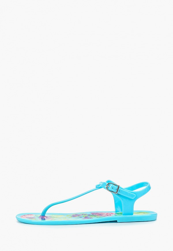 женские сандалии mon ami, голубые
