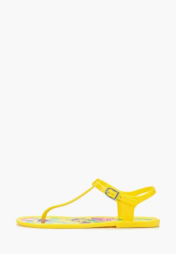 женские сандалии mon ami, желтые
