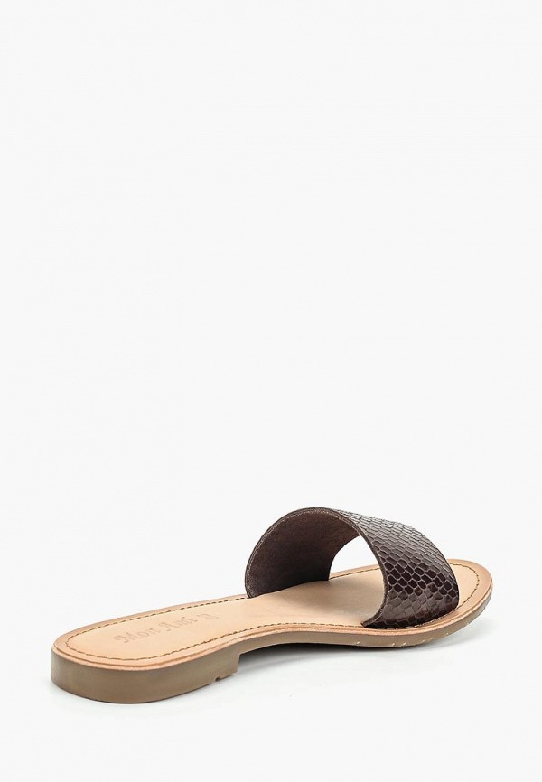 Фото 3 - женские сабо Mon Ami коричневого цвета