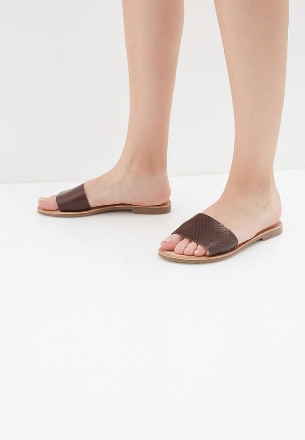 Фото 6 - женские сабо Mon Ami коричневого цвета
