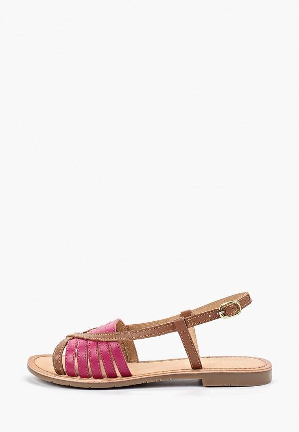 Фото - женские сандали Mon Ami коричневого цвета