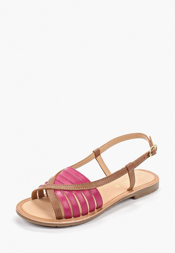 Фото 2 - женские сандали Mon Ami коричневого цвета