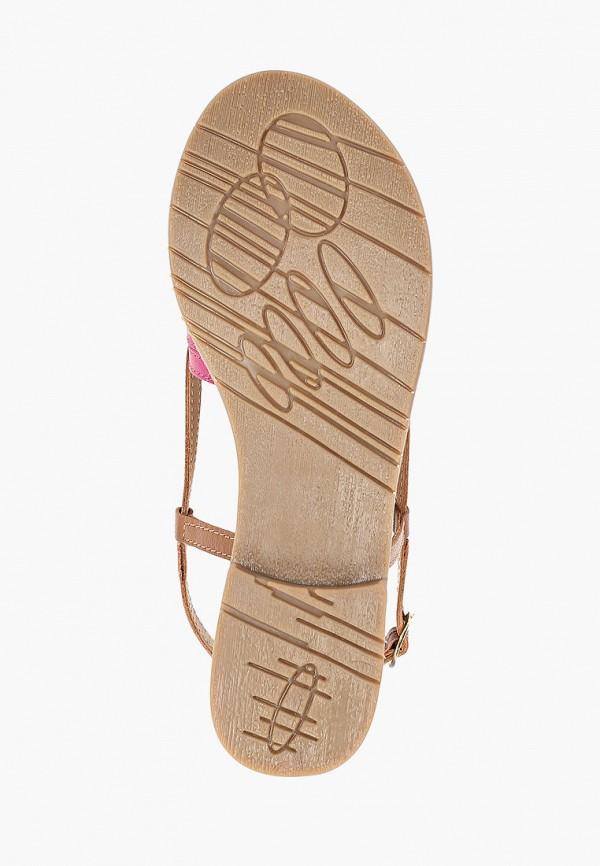 Фото 5 - женские сандали Mon Ami коричневого цвета