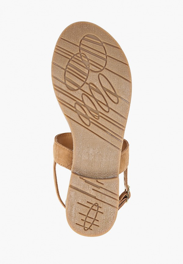 Фото 5 - женские сандали Mon Ami бежевого цвета