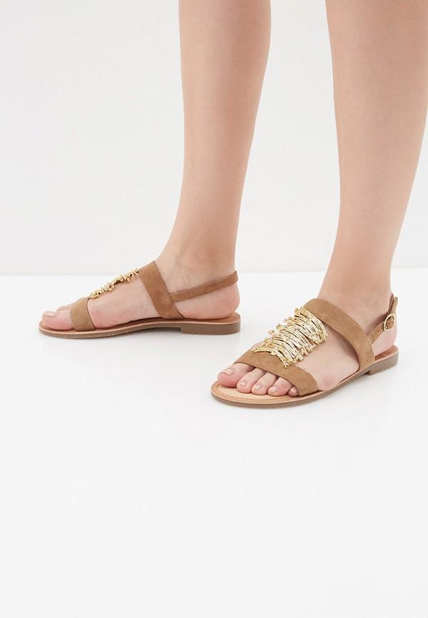 Фото 6 - женские сандали Mon Ami бежевого цвета