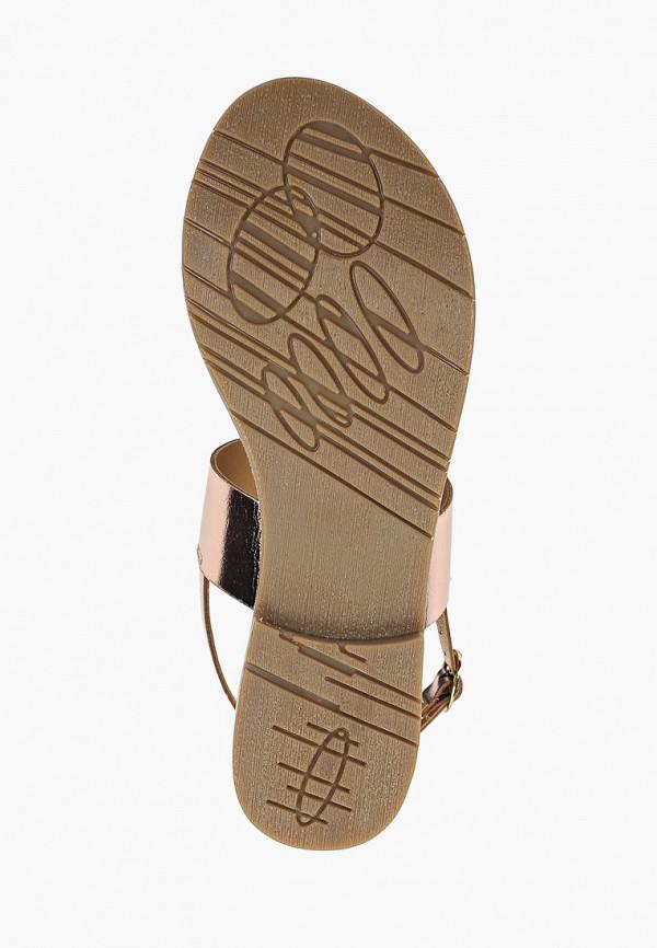 Фото 5 - женские сандали Mon Ami золотого цвета