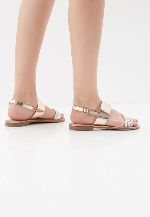 Фото 6 - женские сандали Mon Ami золотого цвета