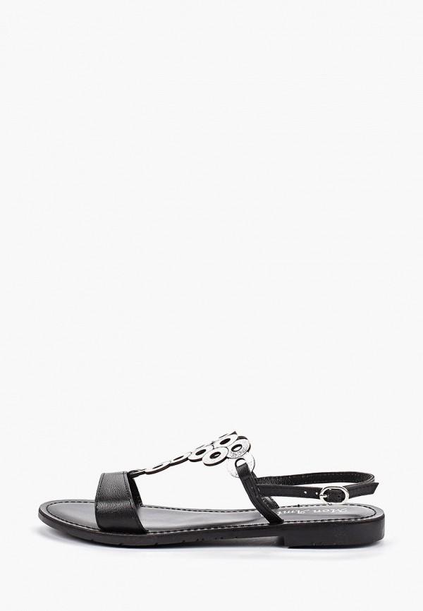 Купить женские сандали Mon Ami черного цвета