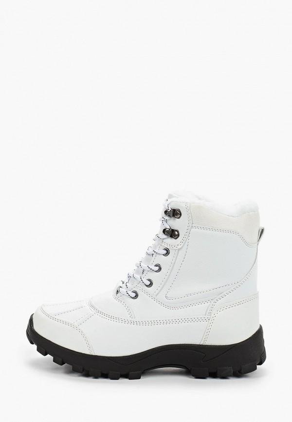 женские ботинки mon ami, белые
