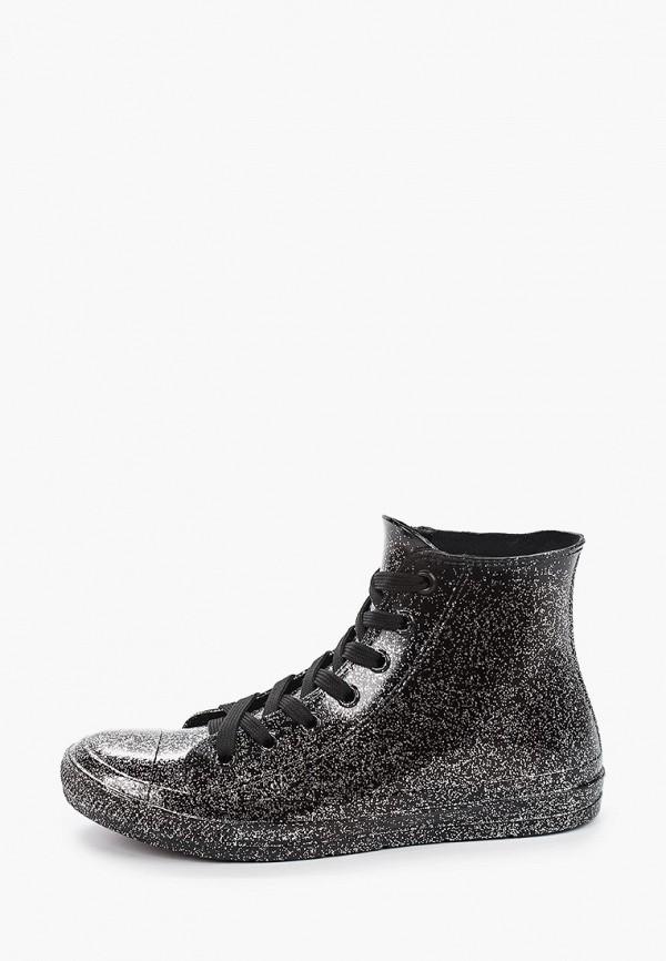 женские ботинки mon ami, серебряные