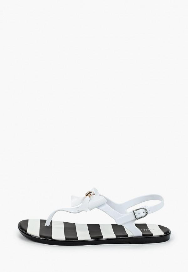 женские сандалии mon ami, белые