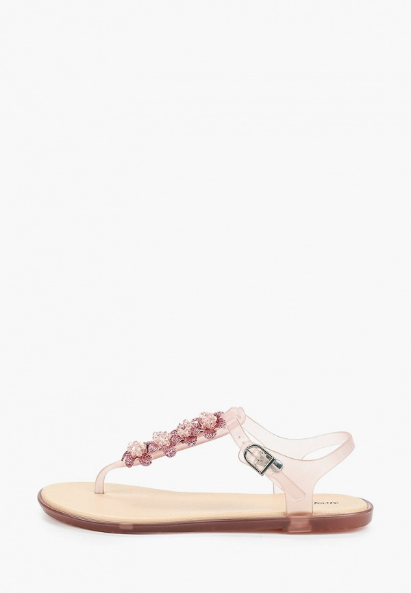 женские сандалии mon ami, розовые
