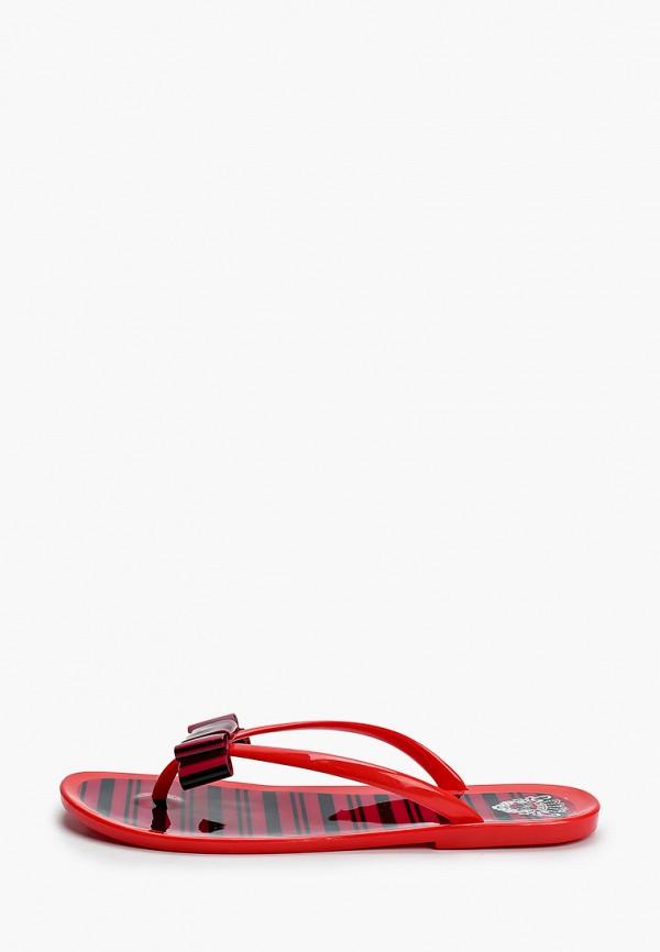 женские сандалии mon ami, красные