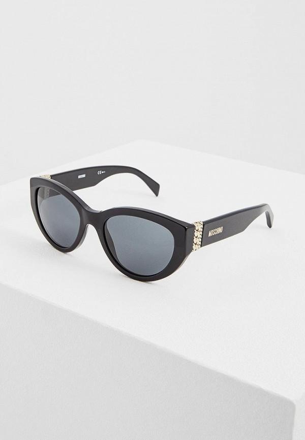 Очки солнцезащитные Moschino Moschino MO351DWAYAE7 цена 2017