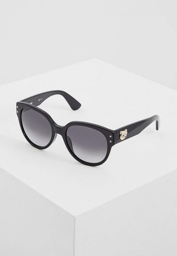 Очки солнцезащитные Moschino Moschino MO351DWAYAF2 очки солнцезащитные moschino moschino mo351dwayaf3