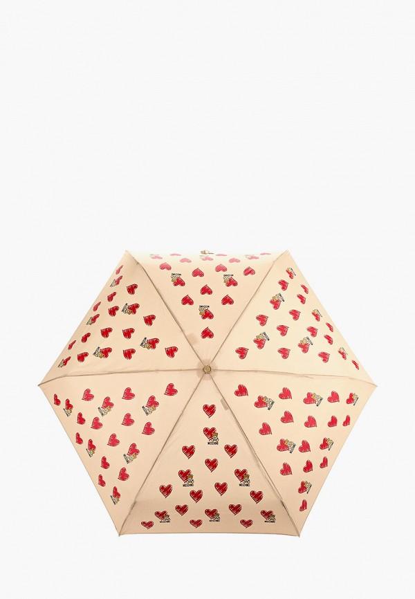 Зонт складной Moschino Moschino MO351DWGAQB8 зонт складной moschino moschino mo351dwgaqc2