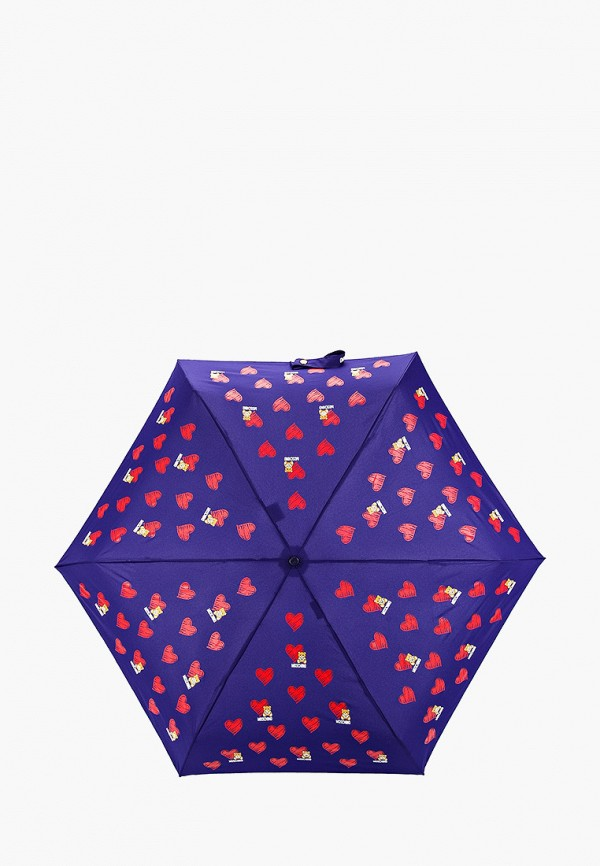 Зонт складной Moschino Moschino MO351DWGAQC0 зонт складной moschino moschino mo351dwgaqc2