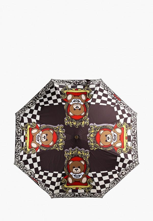 Зонт складной Moschino Moschino MO351DWGAQC2 зонт складной moschino moschino mo351dwgaqc2