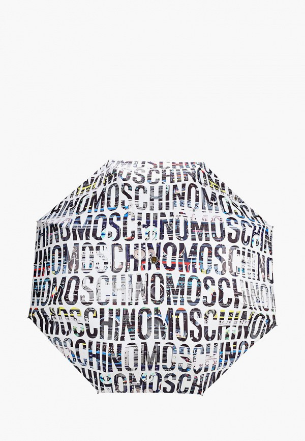 женский зонт moschino, белый