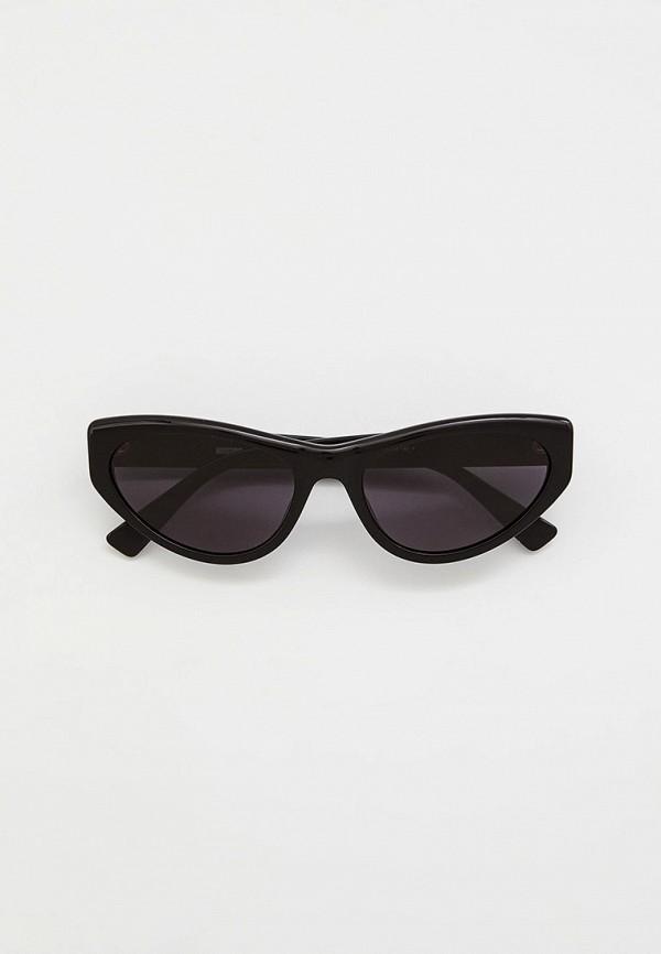 женские солнцезащитные очки кошачьи глаза moschino, розовые