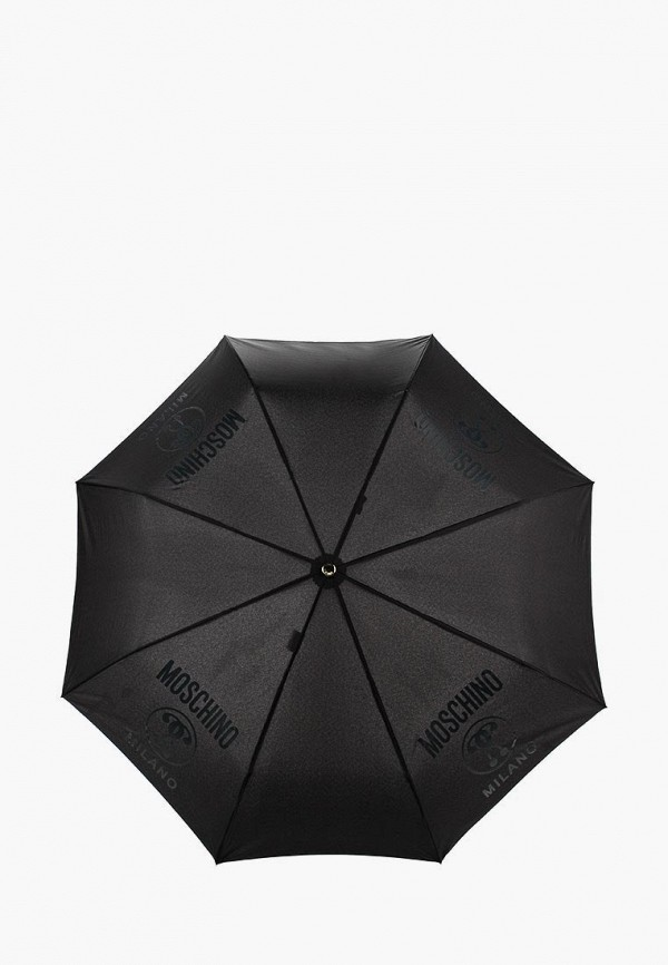 Зонт складной Moschino Moschino MO351DWNEG39 зонты moschino зонт складной moschino 8181 oca toy lettering black