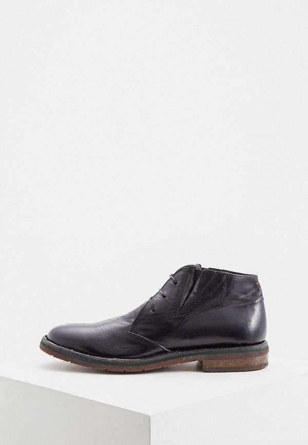 мужские ботинки moma, черные