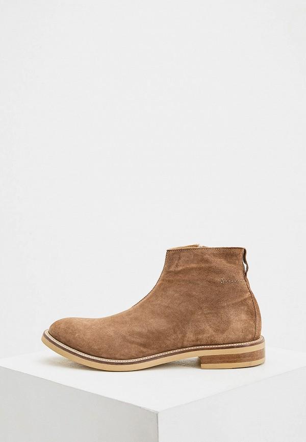 мужские ботинки moma, бежевые