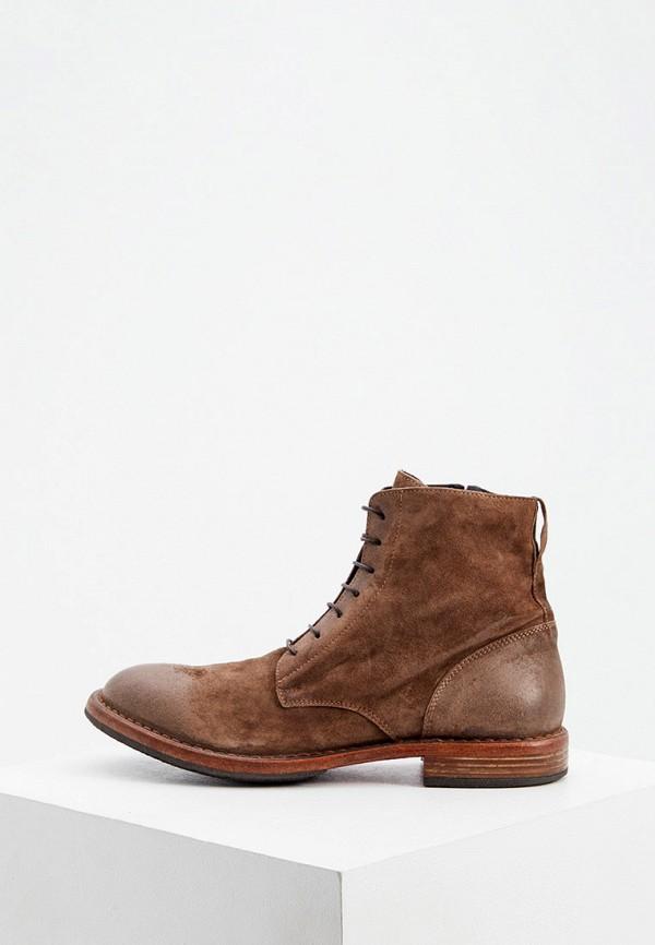 мужские ботинки moma, коричневые