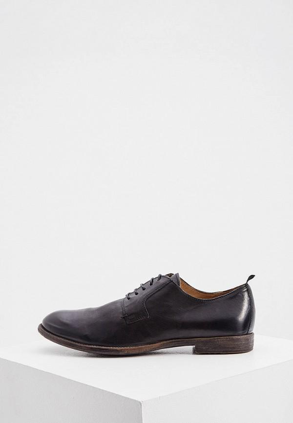 мужские туфли moma, черные