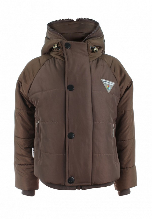 куртка irby style для мальчика, коричневая