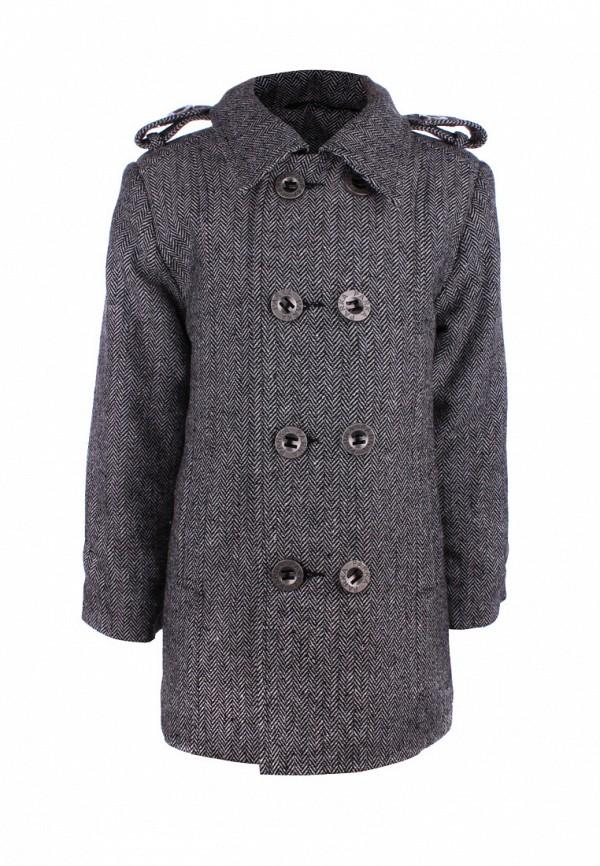 пальто irby style для мальчика, серое