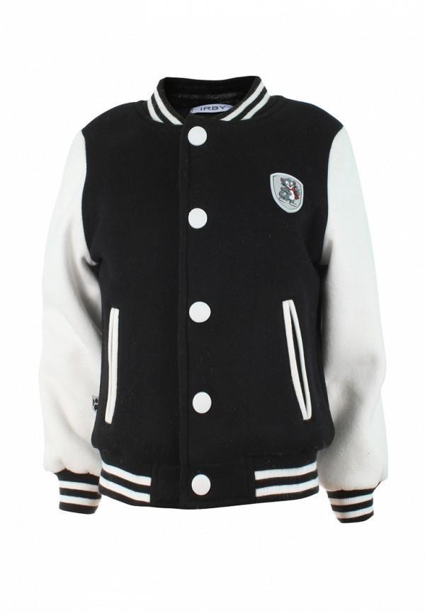 куртка irby style для мальчика, черная