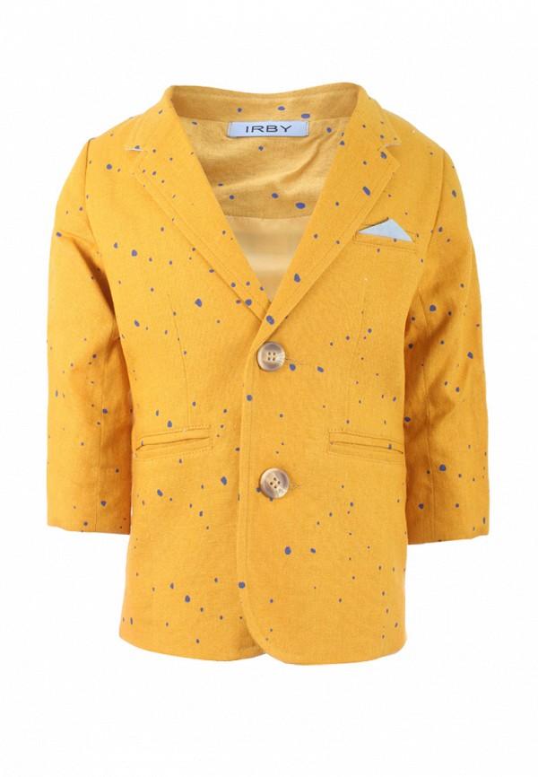 пиджак irby style для мальчика, желтый