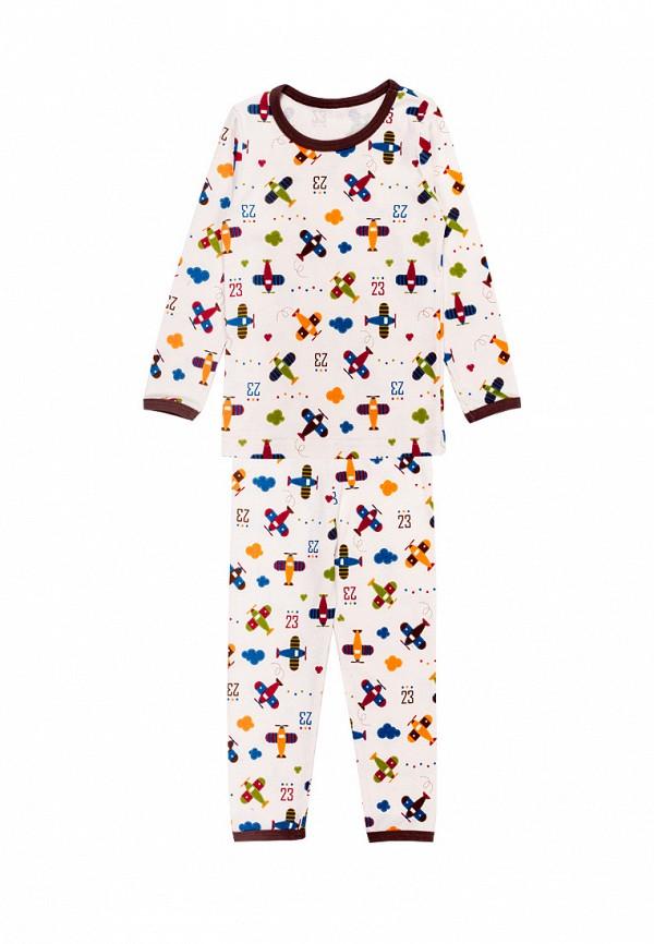 пижама tokki для мальчика, белая