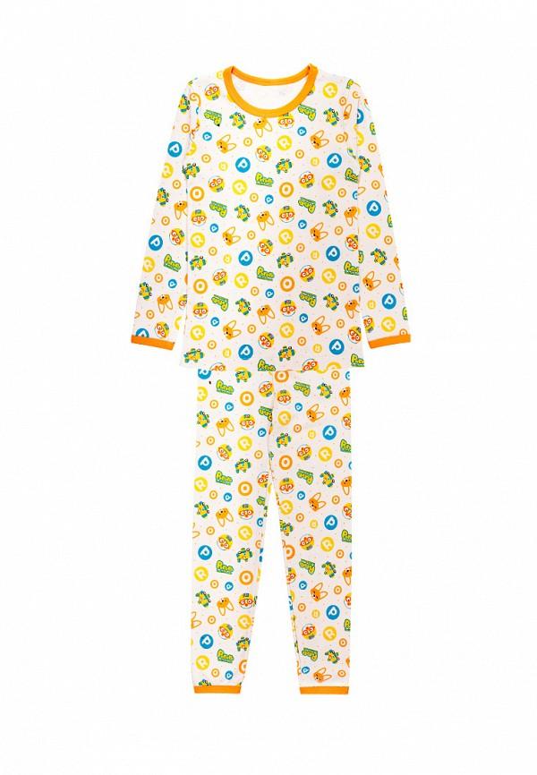 пижама tokki для мальчика, желтая